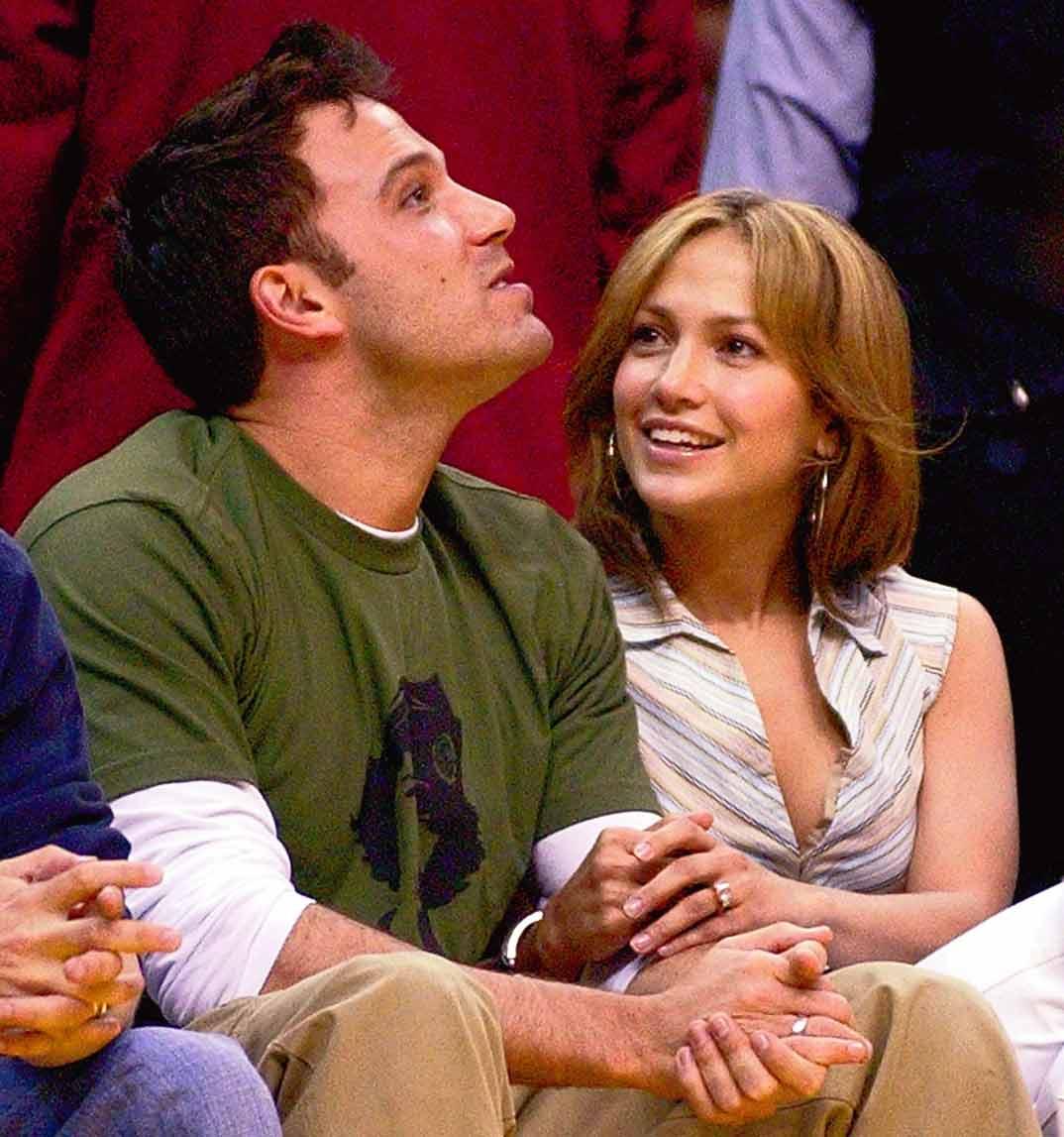 Jennifer López con Ben Affleck - 2003