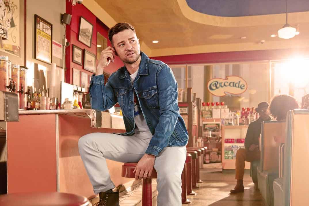 Justin Timberlake presenta la nueva colección de Levi's