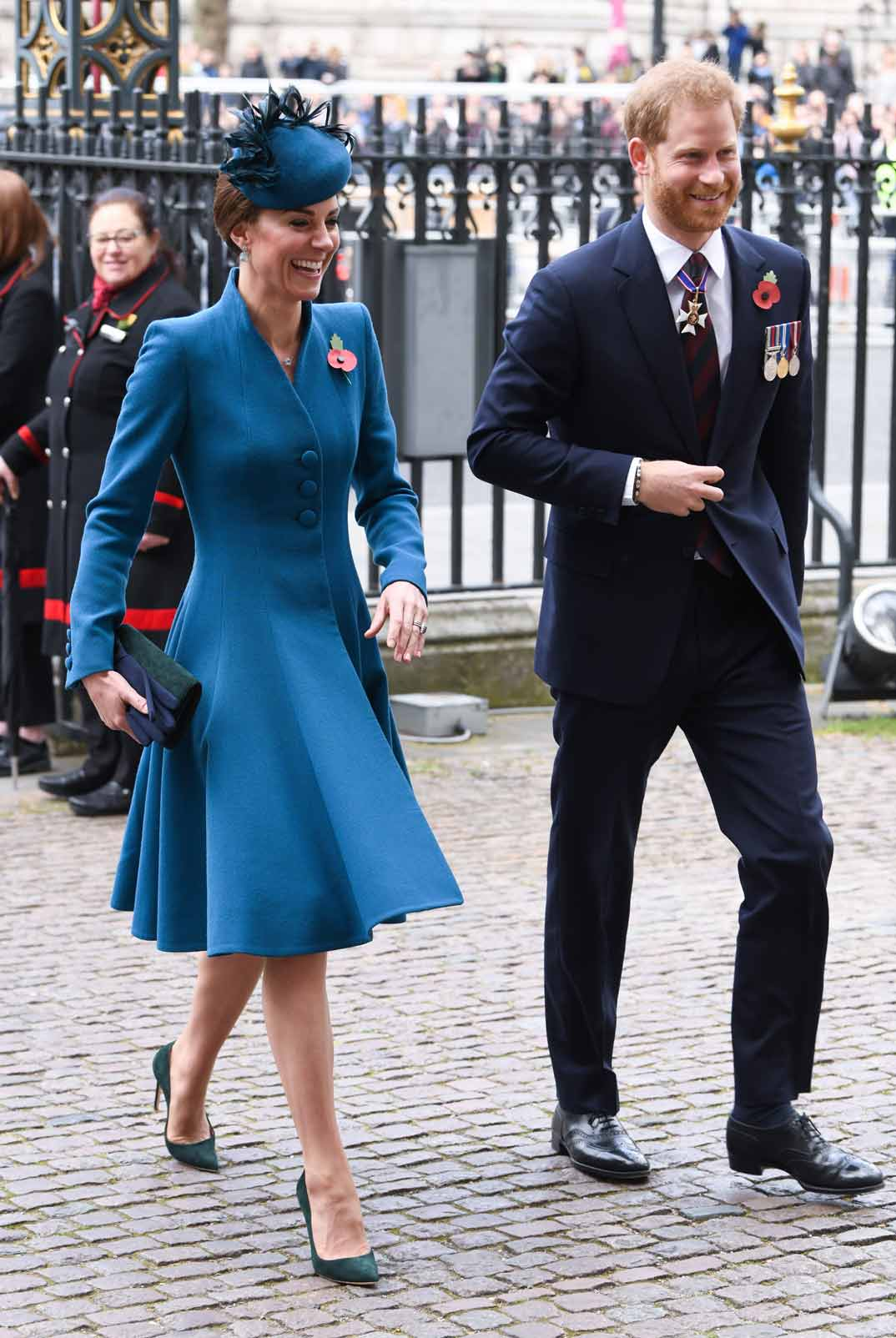 Kate Middleton y el príncipe Harry