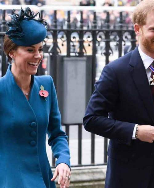 Kate Middleton y el príncipe Harry: las imágenes que demuestran su buena relación
