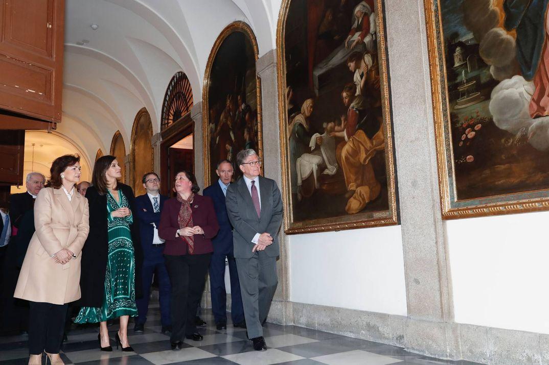 La Reina Letizia - Real Monasterio de la Encarnación © Casa S.M. El Rey