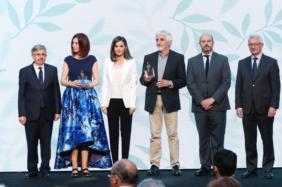 Reina Letizia - Premios SM- Barco de Vapor © Casa S.M. El Rey