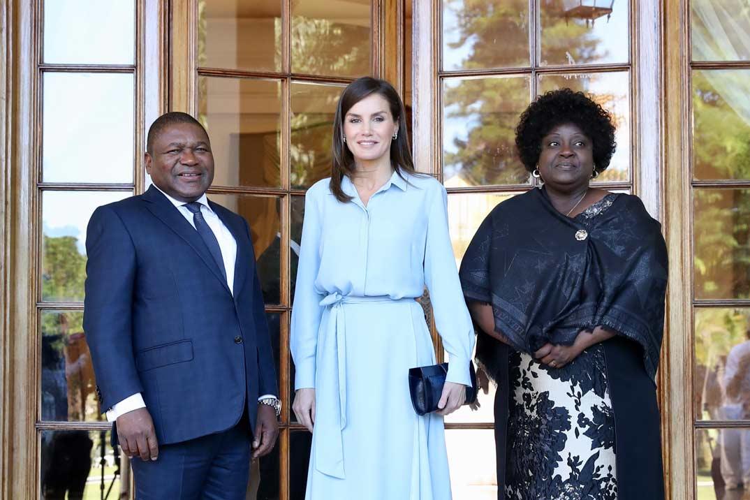 Reina Letizia - Viaje de Cooperación a Mozambique © Casa S.M. El Rey