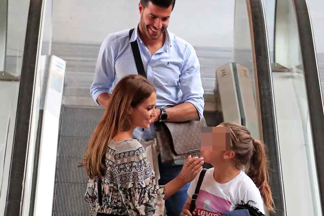 Paula Echevarría se va de viaje con Miguel Torres y su hija Daniella
