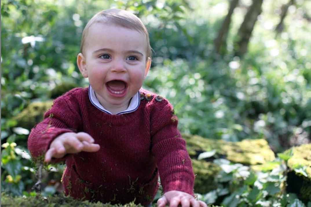 Louis de Cambridge celebra su primer cumpleaños