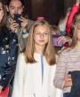 Los estilismos de la reina Letizia y sus hijas en la Misa de Pascua