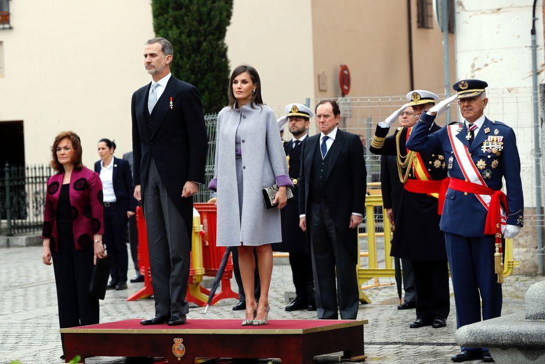 Reyes Felipe y Letizia - Premio Cervantes 2018 © Casa S.M. El Rey