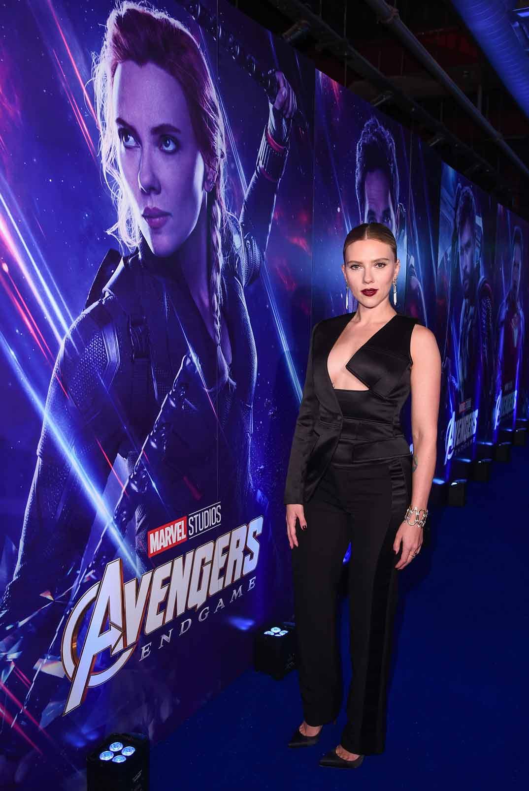 Scarlett Johansson - Estreno 'Los Vengadores: Endgame' Londres