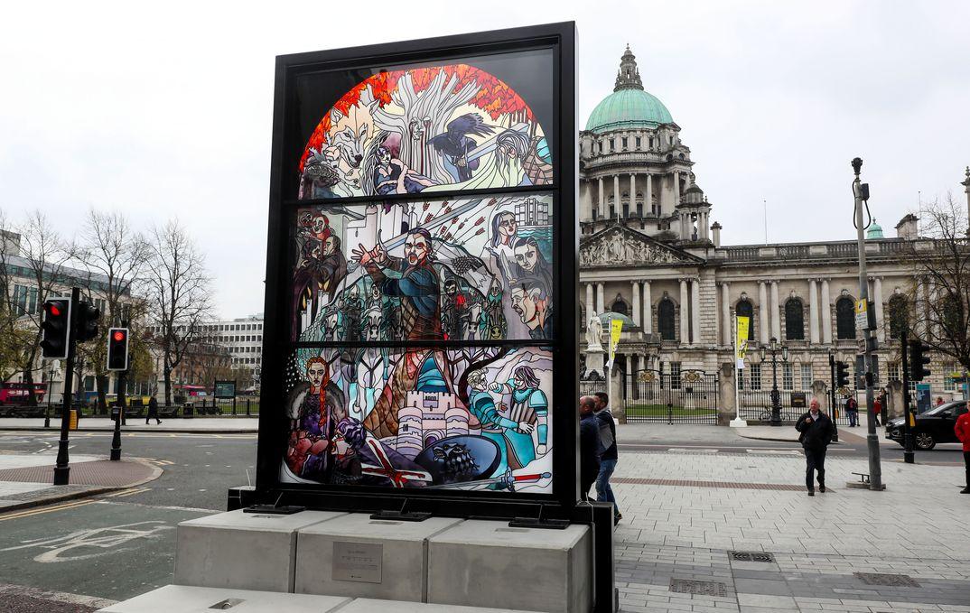 Vidrieras Juego de Tronos - Belfast - Turismo de Irlanda