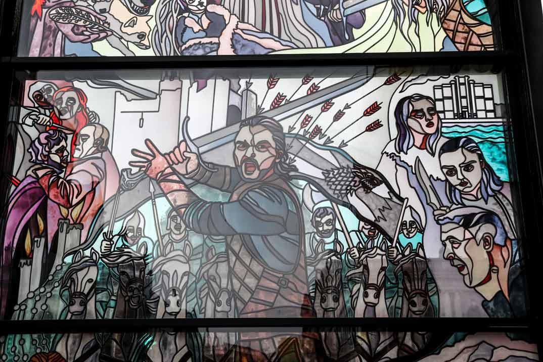 Vidrieras gigantes de «Juego de Tronos» llenarán la ciudad de Belfast