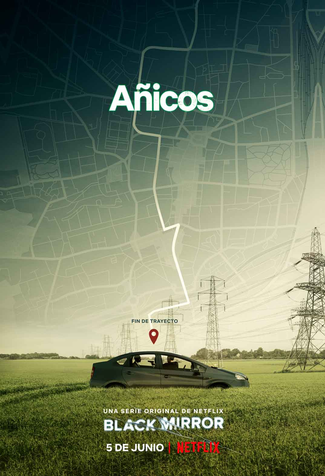 Añicos - Black Mirror © Netflix