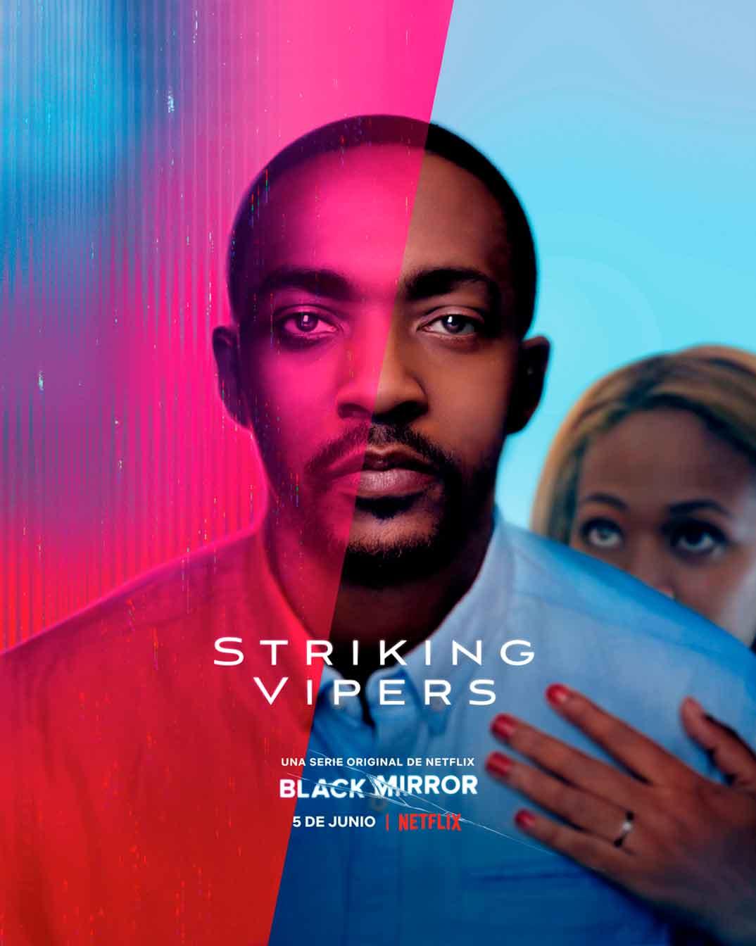 Striking Vipers - Black Mirror © Netflix