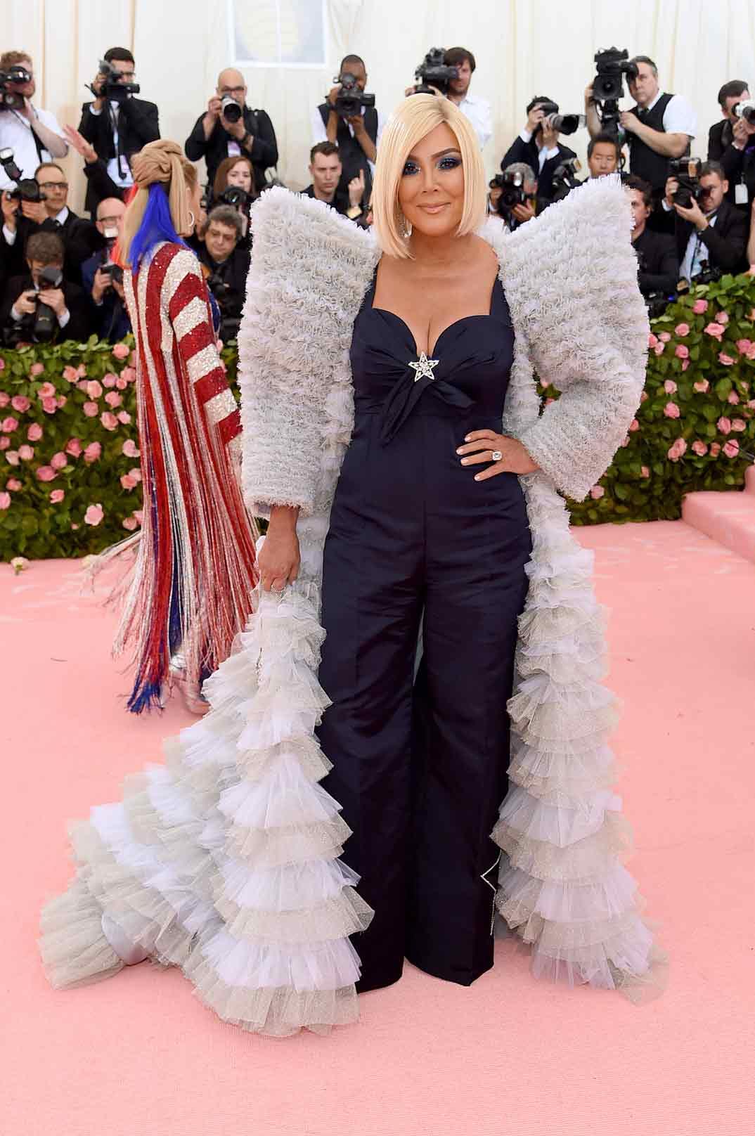 Kris Jenner - Gala Met 2019 © Tommy Hilfiger