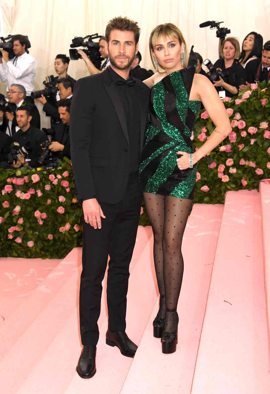 Miley Cyrus y Liam Hemsworth - Gala Met 2019