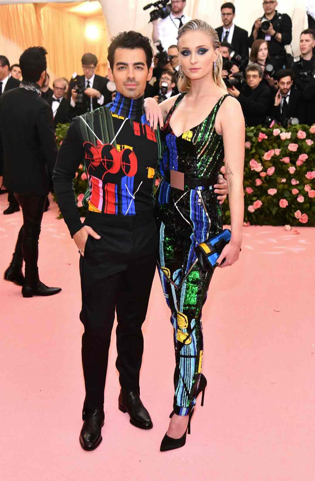 Sophie Turner y Joe Jonas - Gala Met 2019