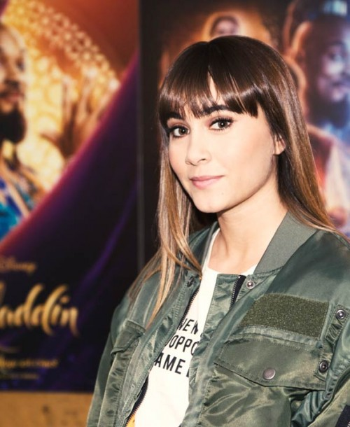 """Aitana pone voz a la banda sonora de """"Aladdin"""""""