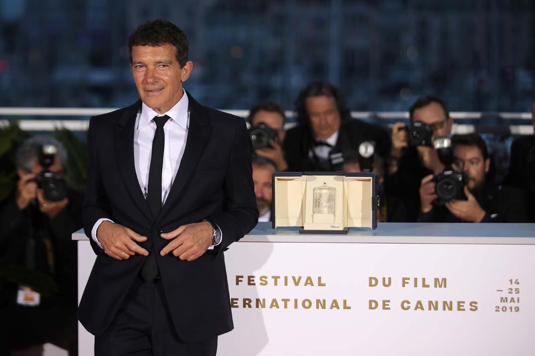 Antonio Banderas - Palma de Oro Mejor Actor - Festival de Cine de Cannes 2019