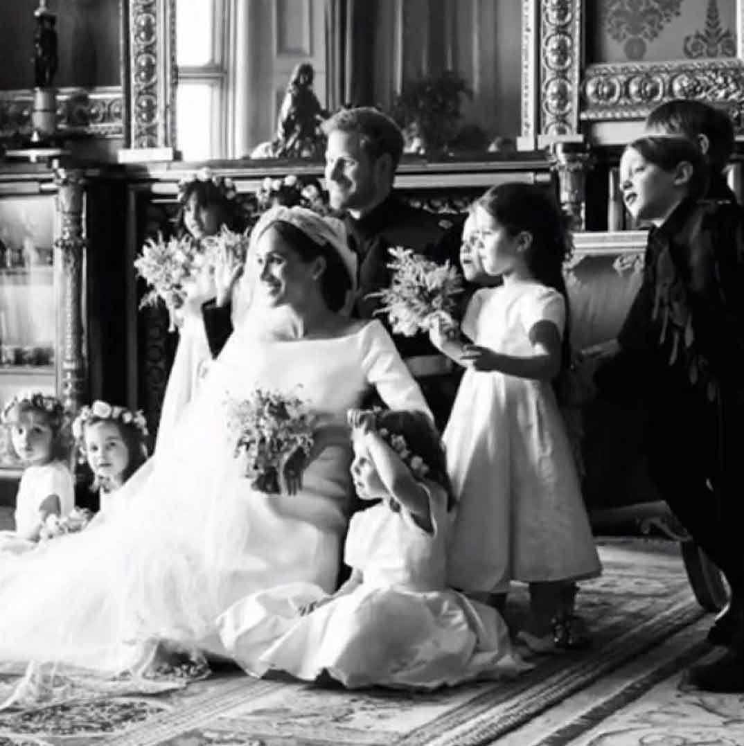 Príncipe Harry Meghan Markle Boda © sussexroyal