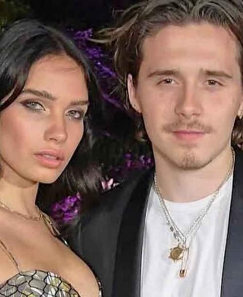 La gran pelea, en público, de Brooklyn Beckham y su novia