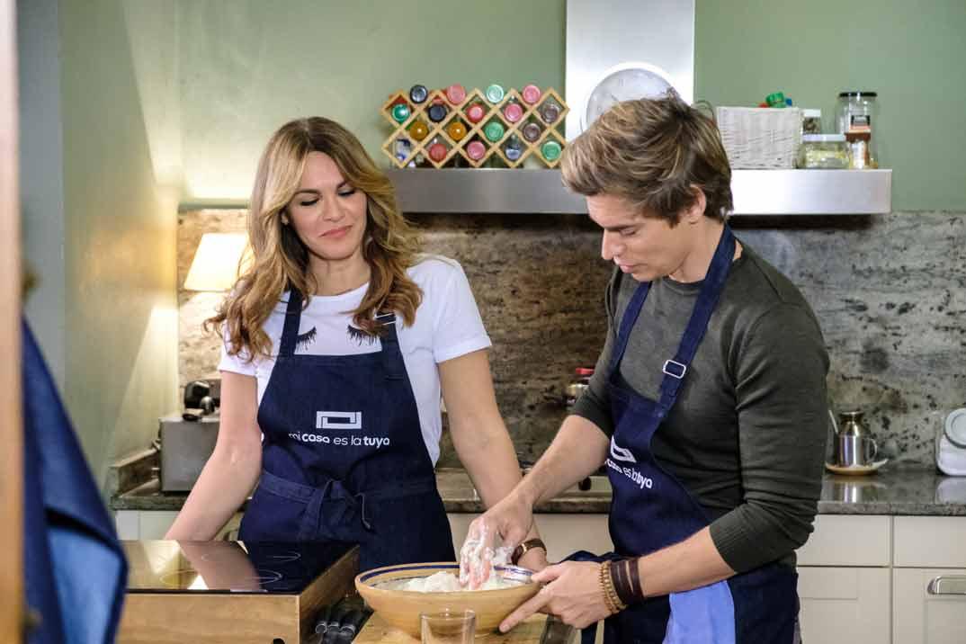 Fabiola Martínez y Carlos Baute - Mi casa es la tuya © Mediaset