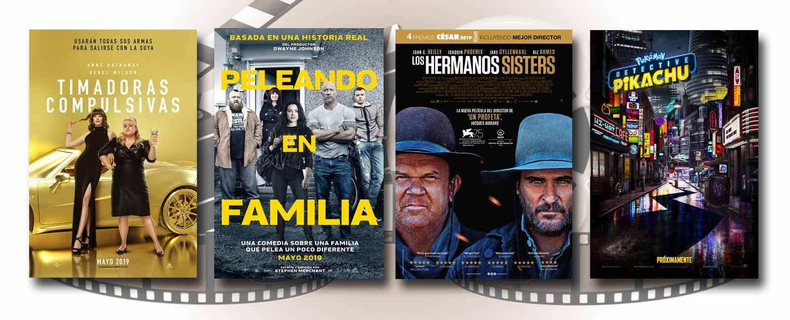 Estrenos de Cine de la Semana… 10 de Mayo 2019