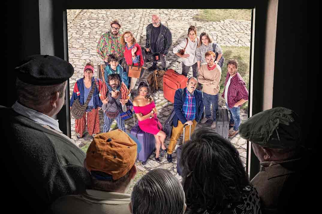 Estreno de «El Pueblo», la nueva serie de Mediaset, en Amazon Prime Video