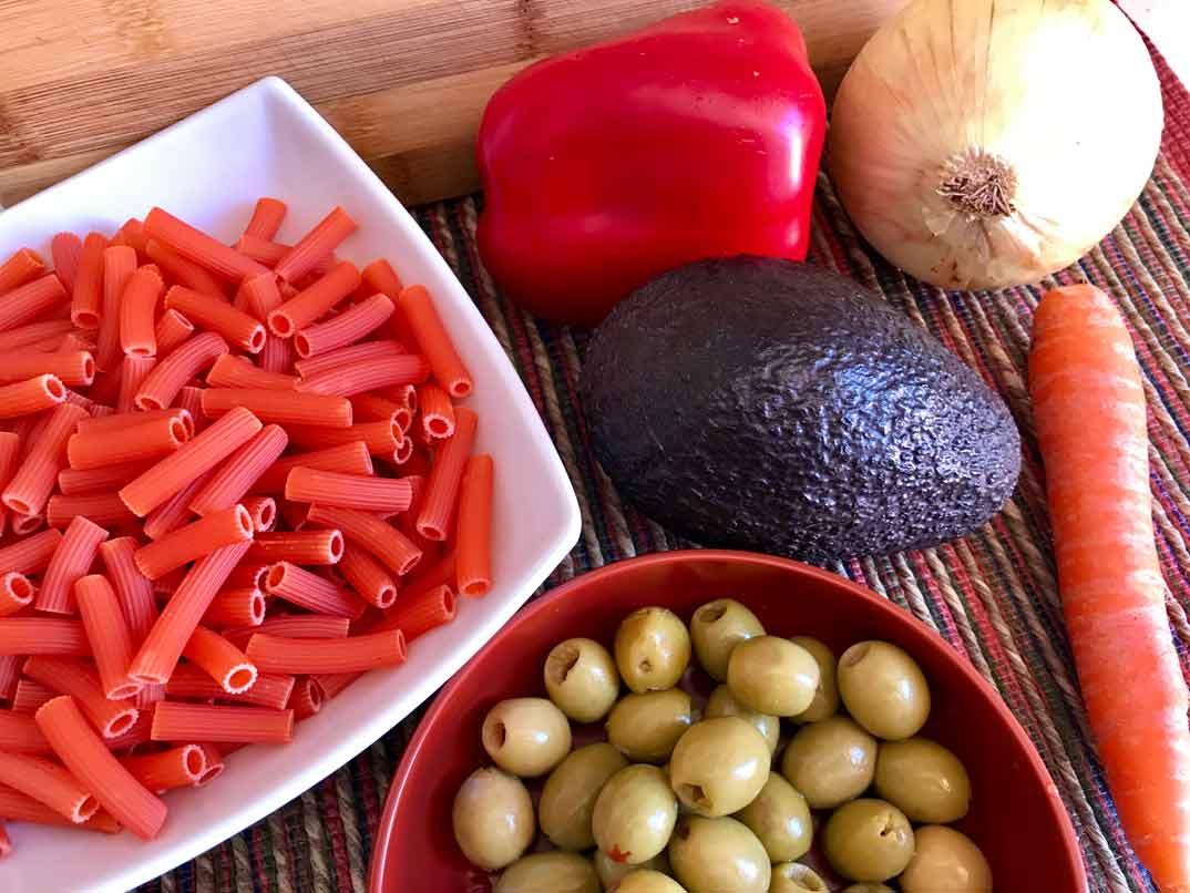 ensalada-pasta-lentejas-ingredientes