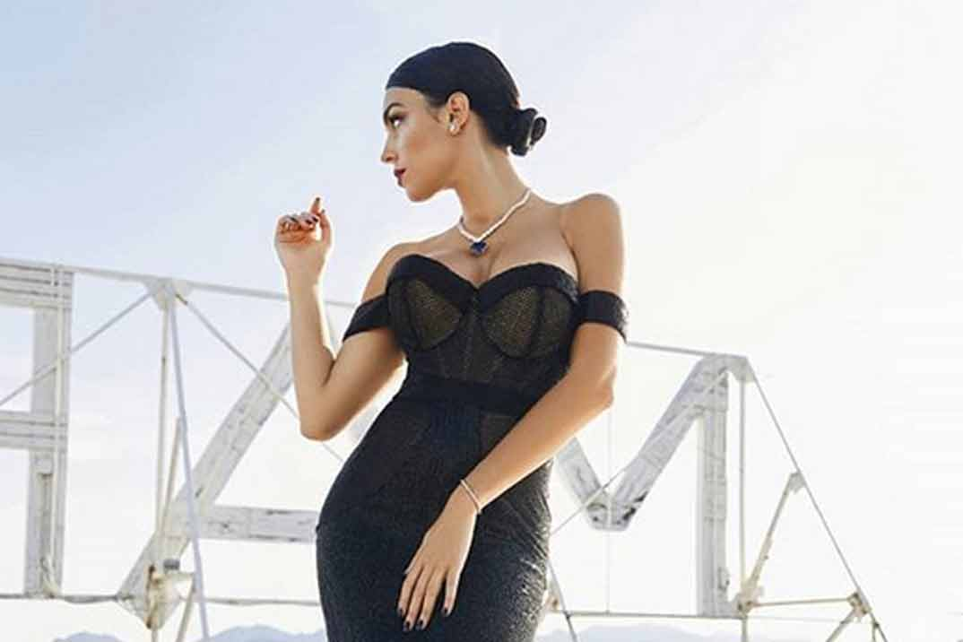Georgina Rodríguez, espectacular en Cannes