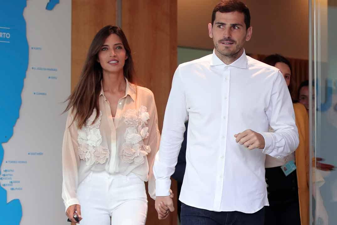 Iker Casillas vuelve a sonreír