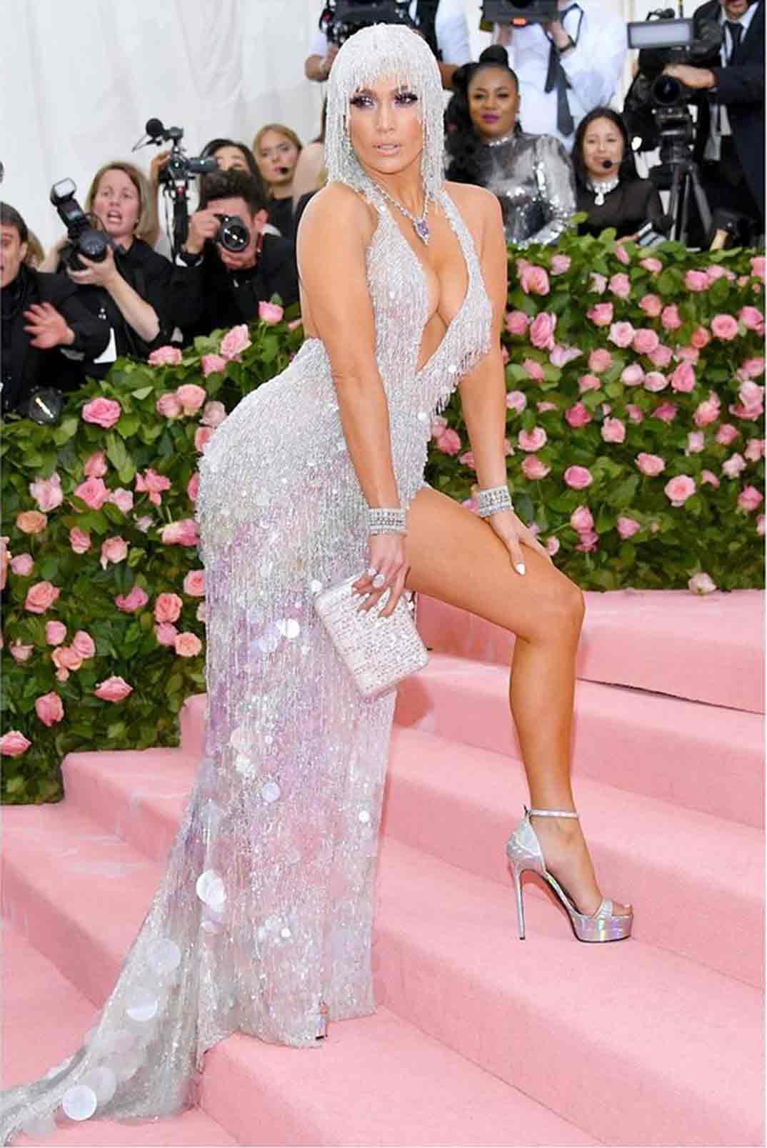 Jennifer López - Gala Met 2019 © Intagram/Versace