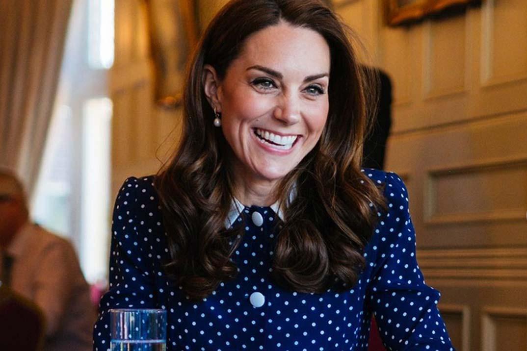 Kate Middleton tiene el vestido de lunares más favorecedor