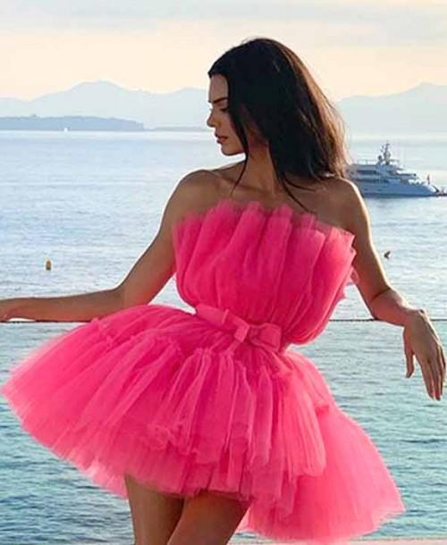 Kendall Jenner, espectacular en Cannes con un diseño de Giambattista Valli x H&M
