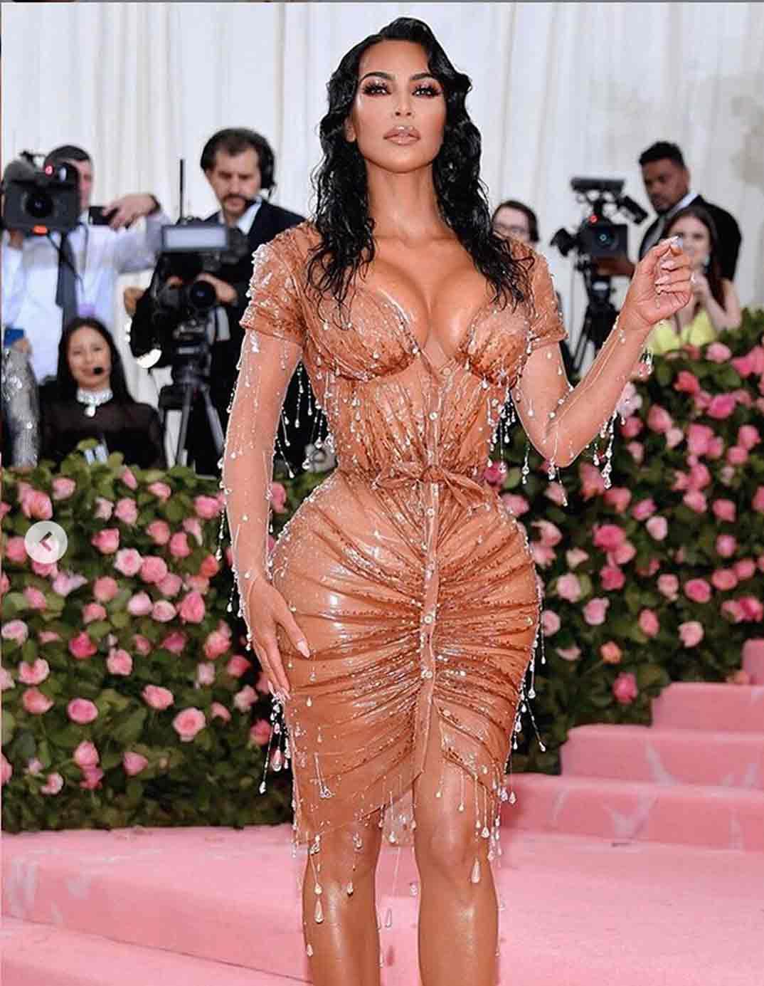 Kim Kardashian- Gala Met 2019 © Instagram