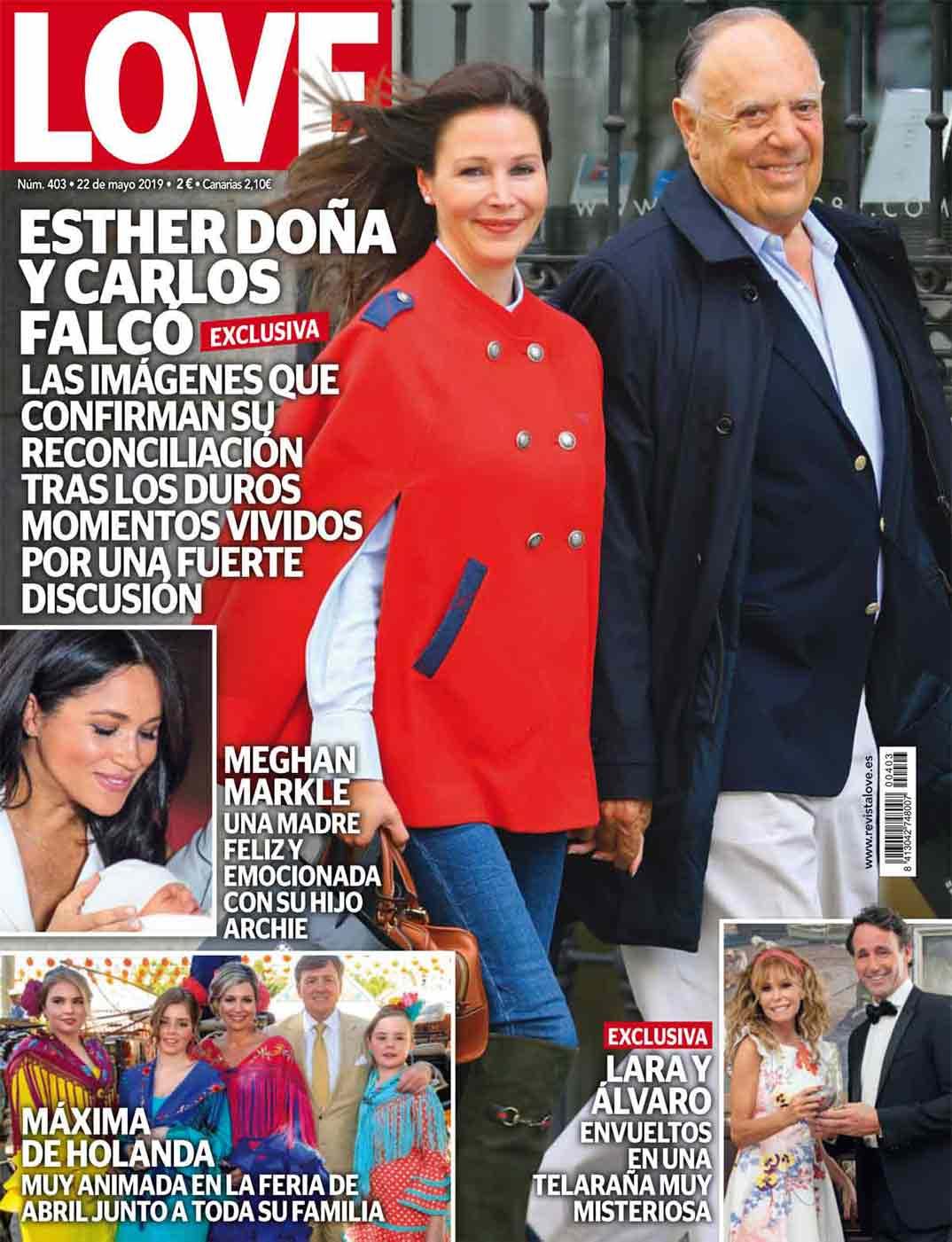 Revista Love - Marqués de Griñón