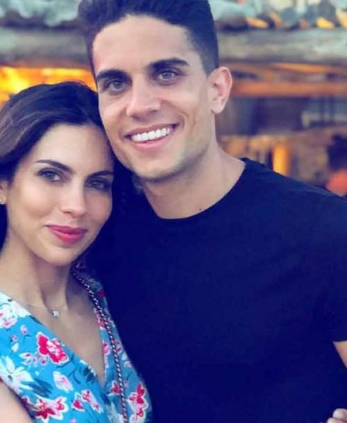 Marc Bartra y Melissa Jiménez esperan su ¡tercer hijo!