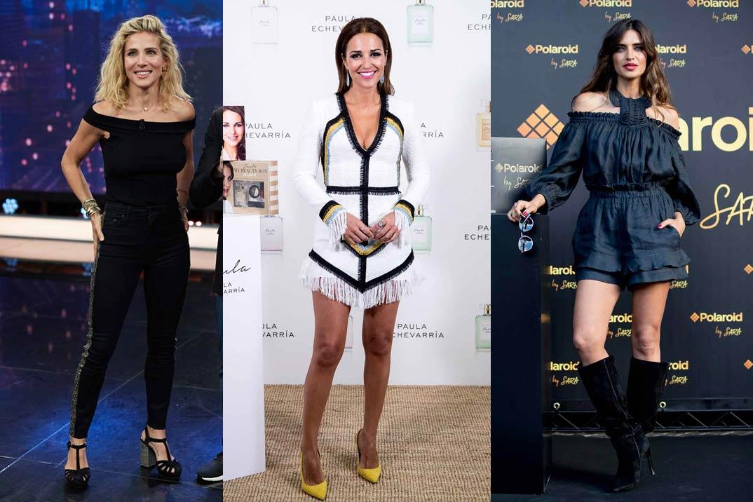 Elsa Pataky, Sara Carbonero y Paula Echevarría, las mamás mejor vestidas