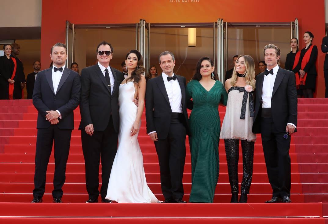Brad Pitt y Leonardo DiCaprio- Erase una vez en Hollywood- Festival de Cine de Cannes 2019