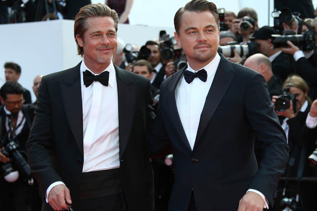 Brad Pitt y Leonardo DiCaprio… Duelo de galanes en Cannes