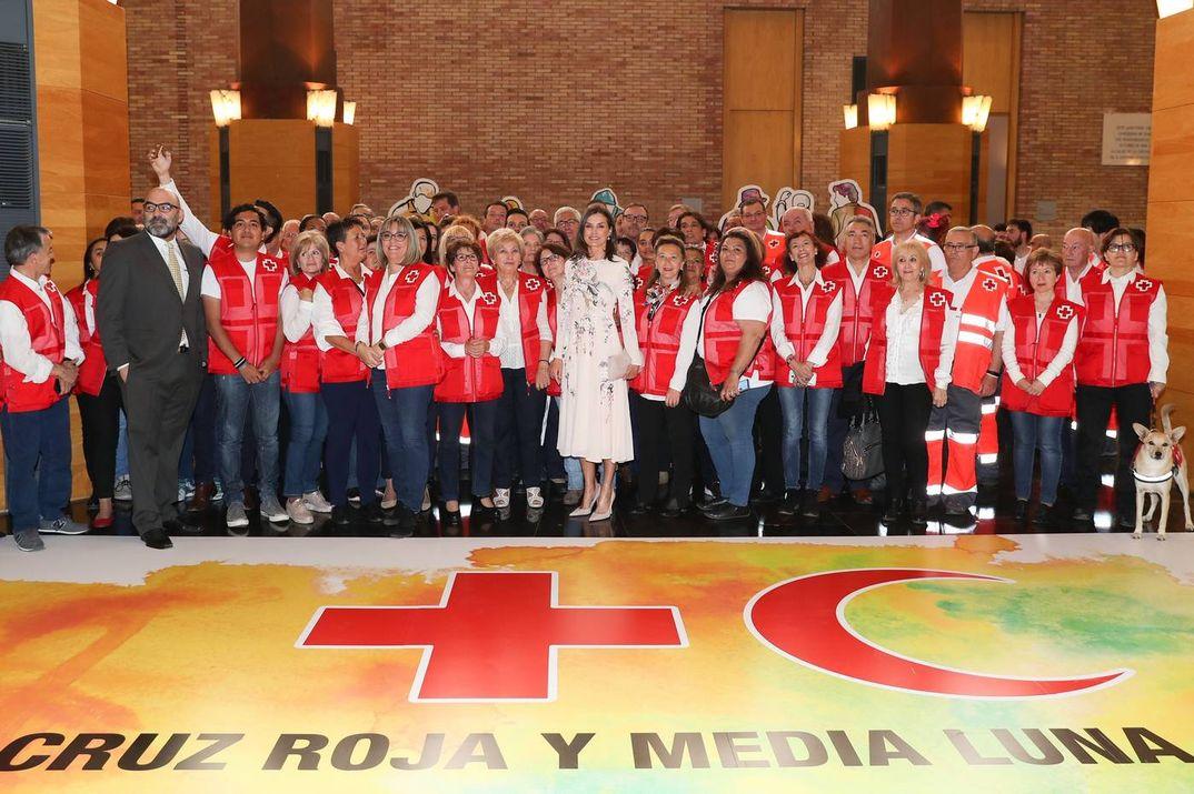 Reina Letizia - Acto conmemorativo del Día Mundial de la Cruz Roja y de la Media Luna Roja © S.M. El Rey