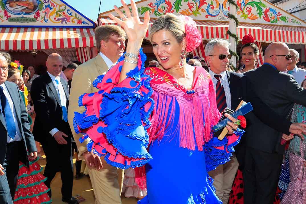 El vídeo de la reina Máxima bailando en la Feria de Abril que se ha hecho viral