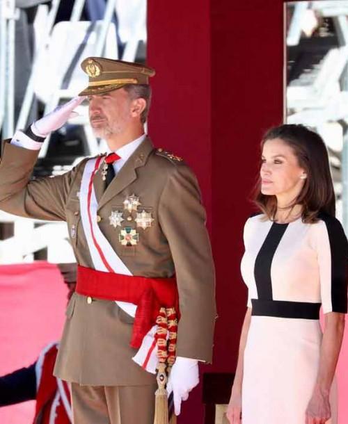Los Reyes conmemoran el 175º aniversario de la fundación de la Guardia Civil