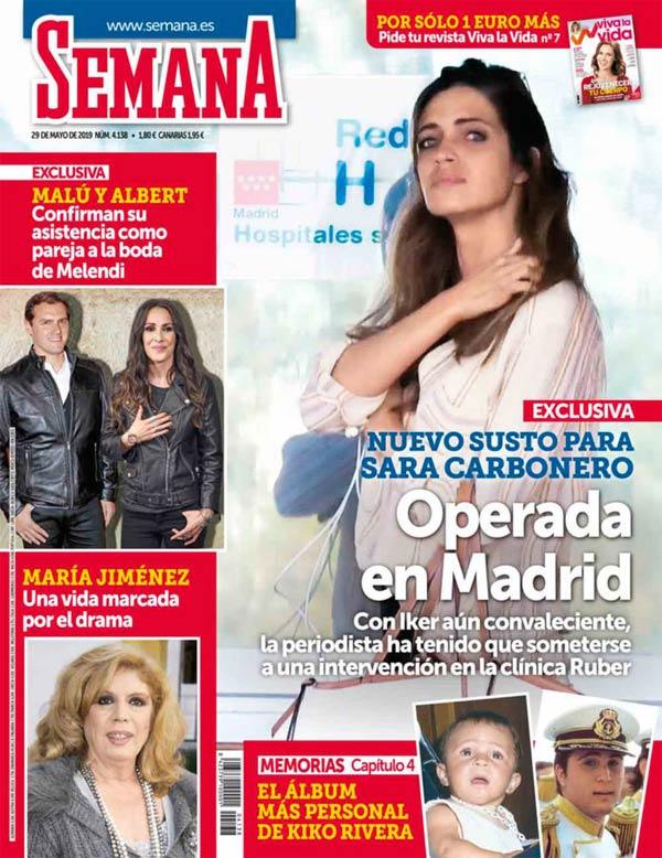 Sara Carbonero - Revista Semana