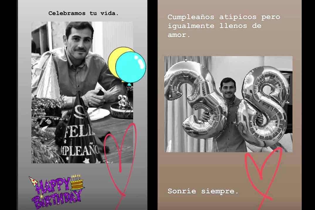 Sara Carbonero © Instagram/Stories