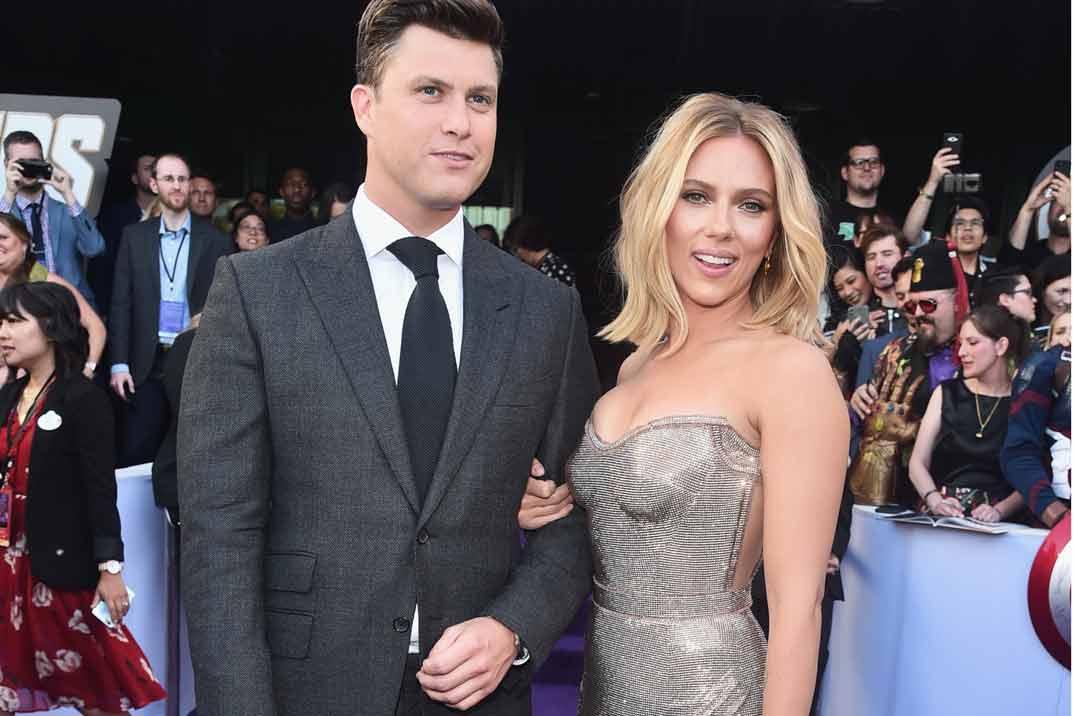 Scarlett Johansson y Colin Jost ¡se casan!