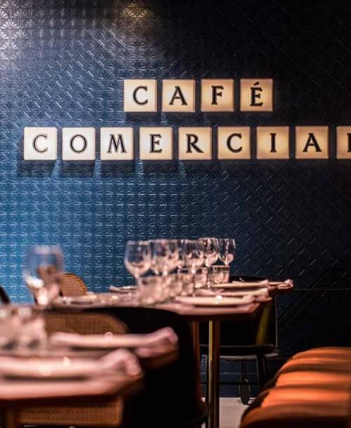 Café Comercial donde disfrutar de la cocina más castiza