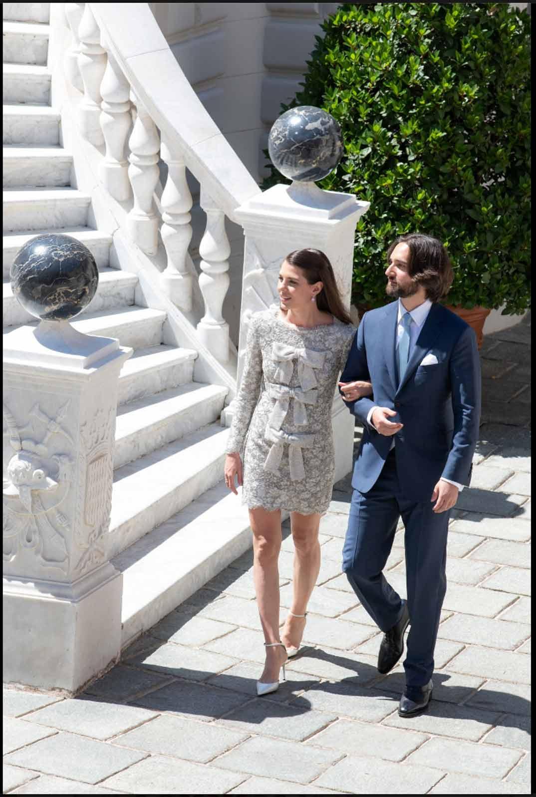 Boda Carolota Casiraghi y Dimitri Rassam - Crédit photo: Eric Mathon / Palais princier