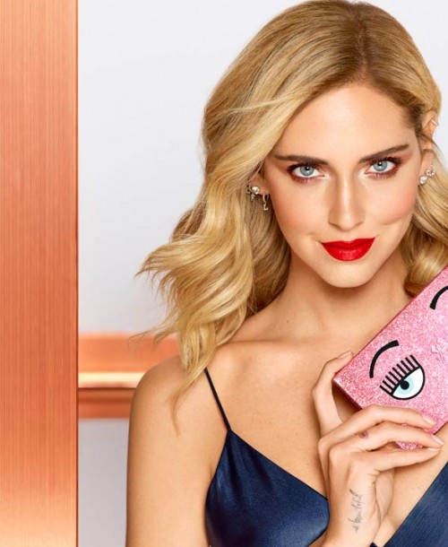 Chiara Ferragni presenta su primera coleción de maquillaje