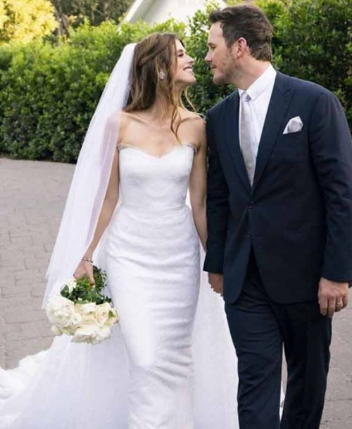 Chris Pratt y Katherine Schwarzenegger ¡se han casado!