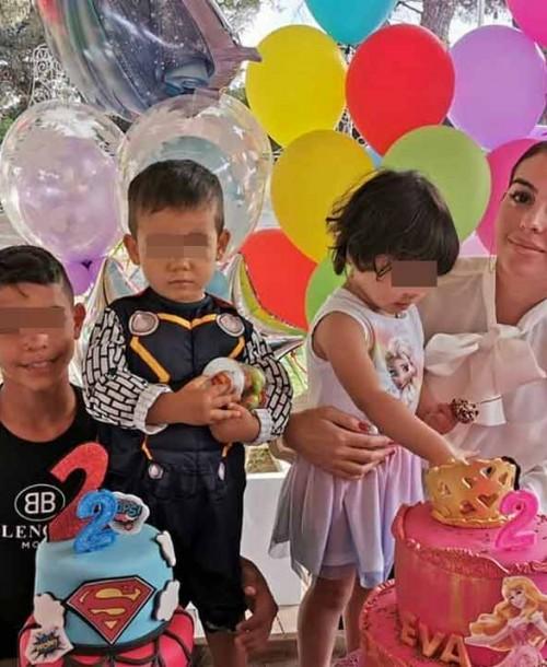 La divertida fiesta de cumpleaños de los hijos de Cristiano Ronaldo