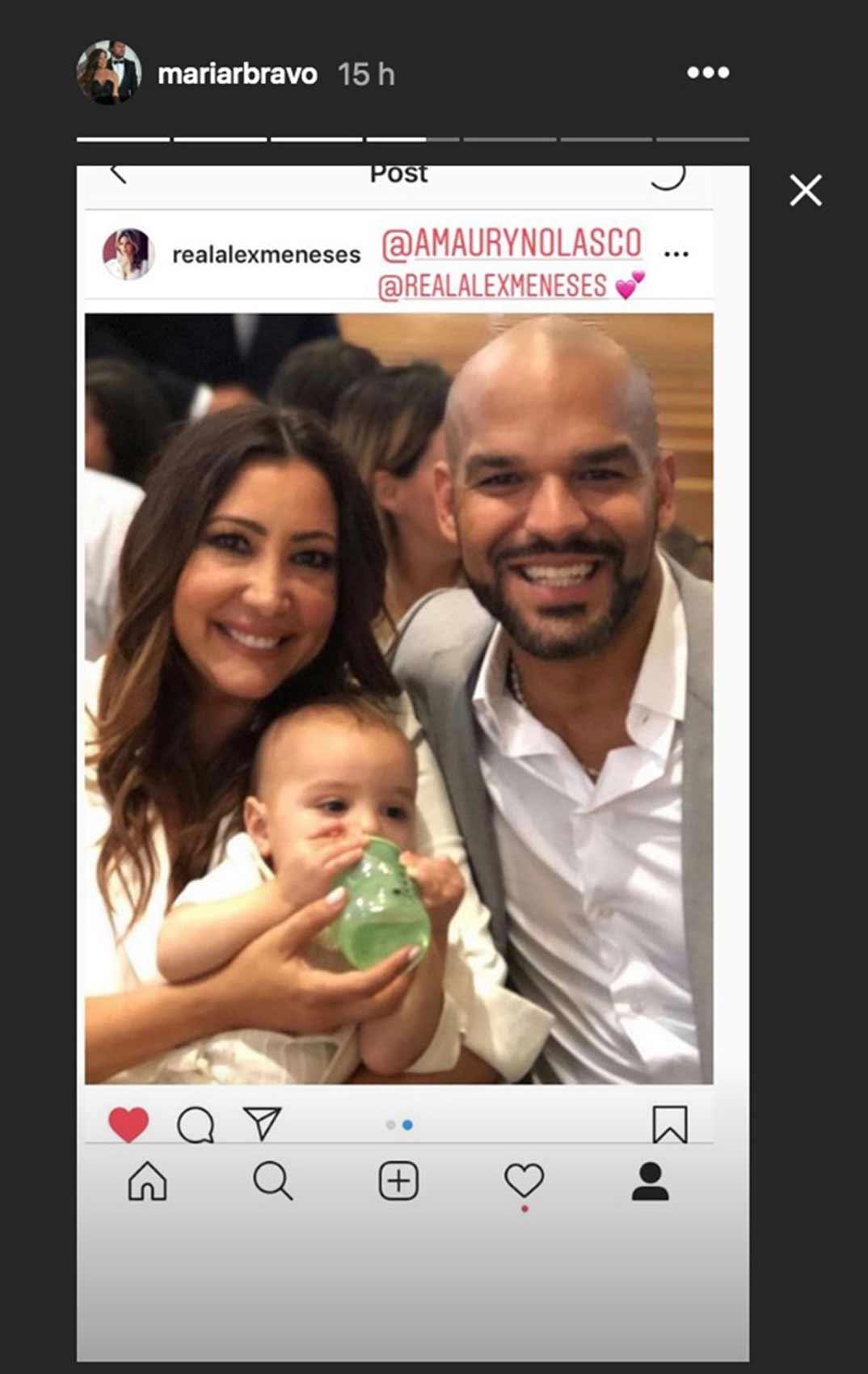 Eva Longoria hijo bautizo © Redes Sociales